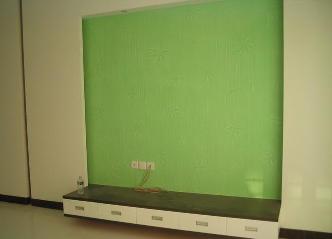 硅藻泥效果图----客厅